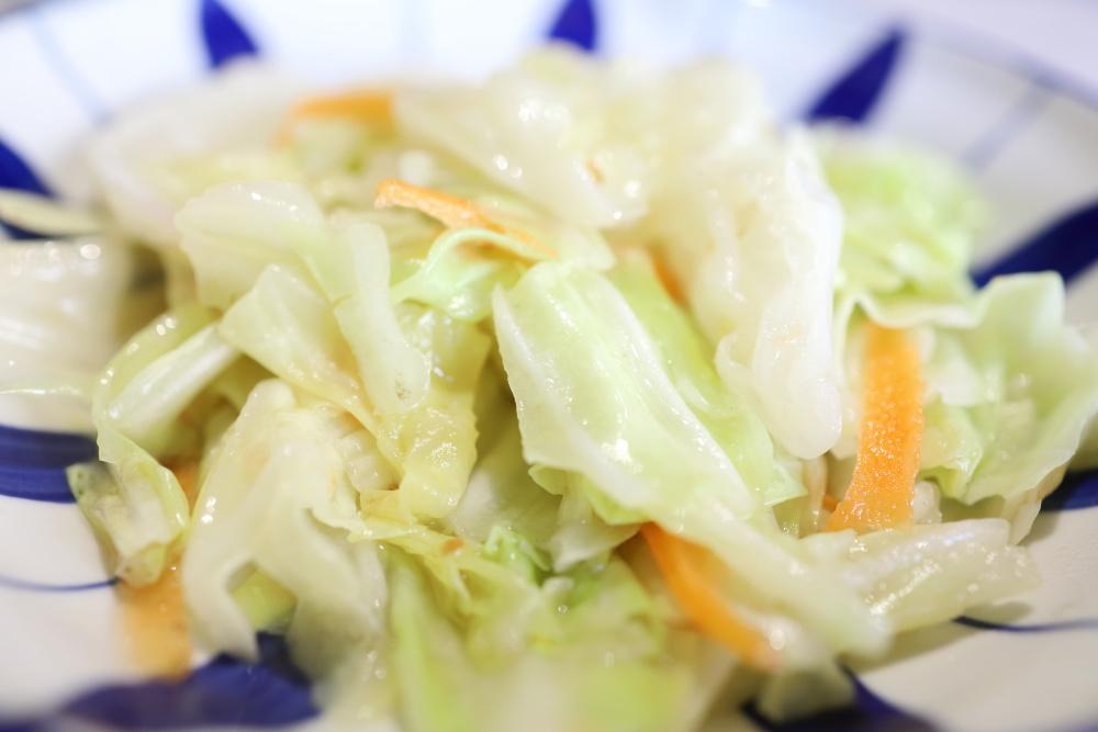 賞鐵板料理の野菜炒め