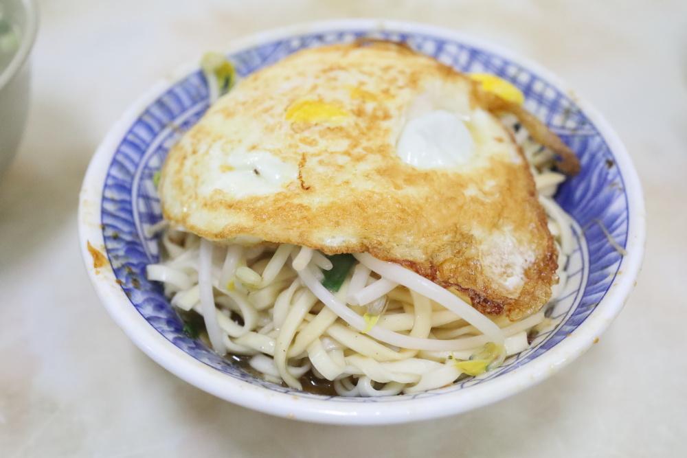 阿土豆漿大王の乾陽春麵